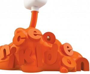 Diseño del logotipo del canal infantil Nickelodeon en Madrid