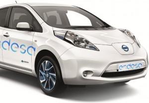 Recorte diseño de vinilos para vehículos para Grupo Enel