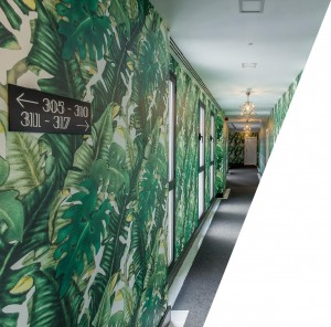 Diseño de interiorismo del Hotel Valeria Room Mate de Málaga