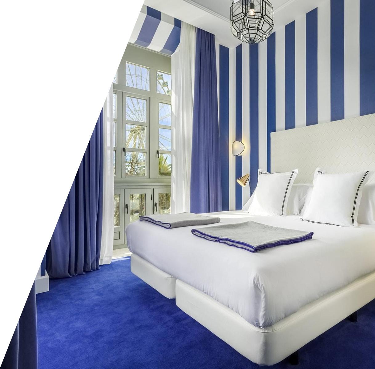 Diseño imagen corporativa del Hotel Valeria Room Mate en Málaga