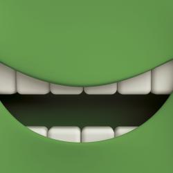 Sonrisa verde
