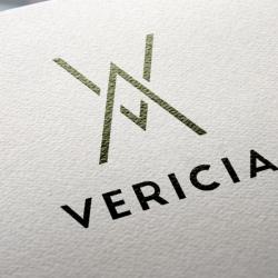 Diseño de logotipo de Vericia en Madrid